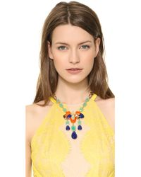 kate spade new york - Multicolor Riviera Garden Pendant Necklace Multi - Lyst