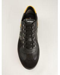 Fendi - Black Colour Block Sneakers for Men - Lyst