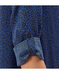 Hobbs | Blue Meredith Spot Tunic | Lyst