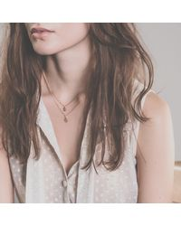 Enelle | Metallic Fraise Necklace | Lyst