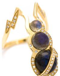 Venyx | Blue 'theiya Obscura' Ring | Lyst