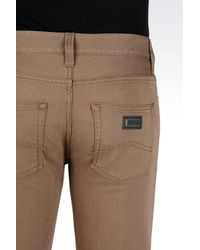 Armani | Brown 5 Pockets for Men | Lyst