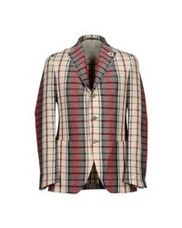 Lardini - Natural Blazer for Men - Lyst