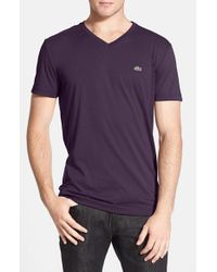 Lacoste | Blue Pima-Cotton T-Shirt for Men | Lyst