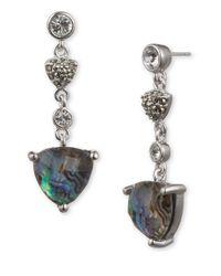 Judith Jack | Metallic Starry Night Pendant Earrings | Lyst