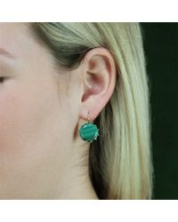Andrea Fohrman - Yellow Malachite Drop Earrings - Lyst