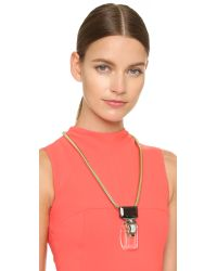 Marni - Multicolor Metal Necklace - Transparent - Lyst