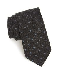 Todd Snyder | Gray Dot Silk Blend Tie for Men | Lyst