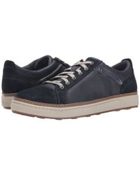 Clarks Black Lorsen Edge for men