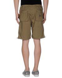 GAUDI | Green Bermuda Shorts for Men | Lyst