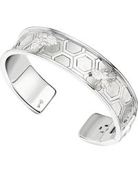 Theo Fennell Metallic Small Sterling Silver Bee Cuff Bangle