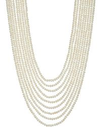 Annoushka - White Cascading 18ct Yellow-gold And Pearl Necklace - For Women - Lyst