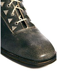 New Kid - Penny Dreamcore Black Leather Boot - Lyst
