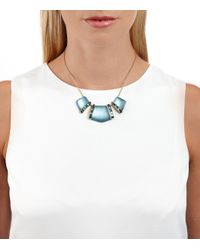 Alexis Bittar | Blue 3 Part Cabochon Bib Necklace You Might Also Like | Lyst