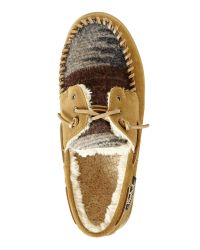 Woolrich Brown Earth Austin Potter Slippers for men