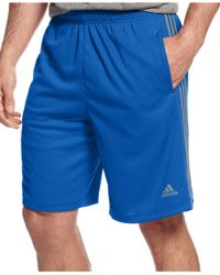 Adidas Originals | Red Men's Climalite Essential Shorts for Men | Lyst