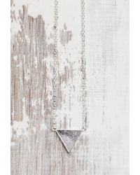 Forever 21 - Metallic Shashi Arrow Necklace - Lyst