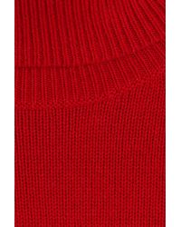 Vanessa Bruno - Blue Wool-cashmere Turtleneck - Red - Lyst