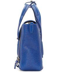3.1 Phillip Lim - Blue Mini Pashli Messenger Bag - Lyst
