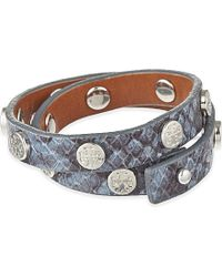 Tory Burch | Metallic Logo Stud Bracelet | Lyst