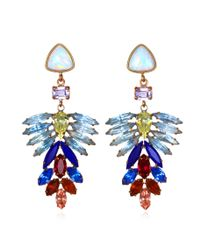 Lizzie Fortunato | Metallic Illusion Earrings | Lyst