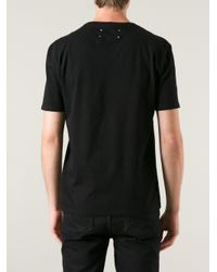 Maison Margiela - Graphic Tee In Black - Lyst