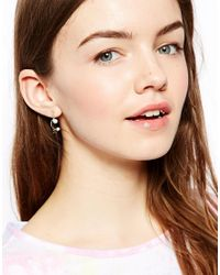 ASOS - Metallic Mini Star Earrings - Lyst
