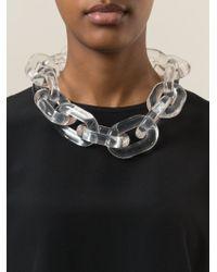 Stella McCartney Natural 'bijoux Butter Plexi' Necklace