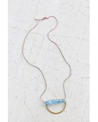 Urban Outfitters | Blue Traces Of The Nile Necklace | Lyst