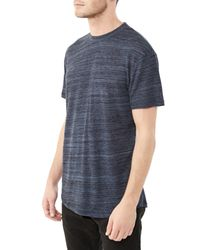 Alternative Apparel | Blue Journeyman Eco-space Dye Jersey T-shirt | Lyst