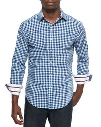 Robert Graham | Black Long-sleeve Check Sport Shirt for Men | Lyst