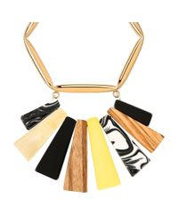 Stella McCartney - Multicolor Mixed Stones Necklace - Lyst