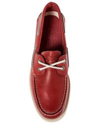 Sperry Top-Sider - Red The Ao 2eye Free Time Boat Shoe for Men - Lyst