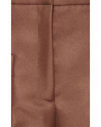 N°21 - Brown Patrizia Cropped Pant - Lyst