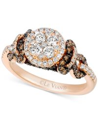 Le Vian | Pink Chocolatier® Diamond Ring (1 Ct. T.w.) In 14k Rose Gold | Lyst