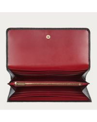 Bally Red Binney Women ́s Leather Purse In Black