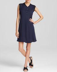Theory Blue Dress - Loreese Modern