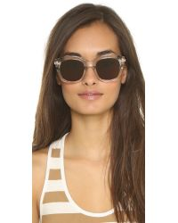 Le Specs Natural Runway Luxe Sunglasses