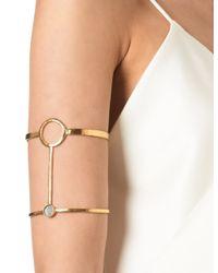 Bjorg | Metallic Gold Innumerable Futures Armpiece | Lyst
