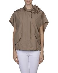 Brunello Cucinelli - Natural Jacket - Lyst
