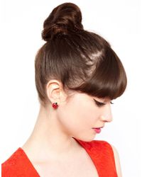 ASOS Collection Red Asos Ladybug Stud Earring