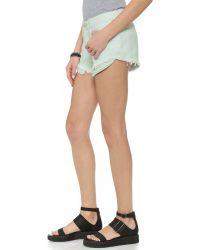 3x1 - Blue Wm5 Cutoff Shorts - Sunrise - Lyst