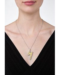 Marc By Marc Jacobs | Metallic Bolt Necklace - Gold | Lyst