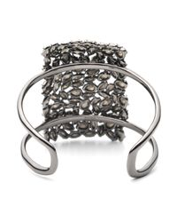 Alexis Bittar - Metallic Empire Pavo Crystal Encrusted Cuff Bracelet - Lyst