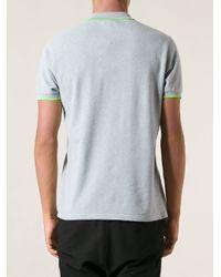 KENZO - Gray Jungle Logo Polo Shirt for Men - Lyst
