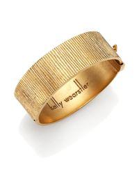 Kelly Wearstler | Metallic Koa Cuff Bracelet for Men | Lyst