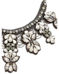 Deepa Gurnani - Black Mergers And Acquisitions Necklace - Lyst