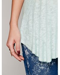 Free People | Green Intimately Womens Weekends Layering Top | Lyst
