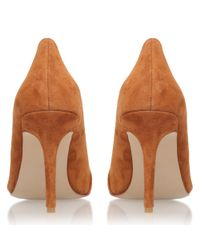 Carvela Kurt Geiger | Brown Able High Heeled Stiletto Court Shoes | Lyst