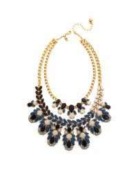 kate spade new york | Blue Beach Gem Statement Necklace - Aqua Multi | Lyst